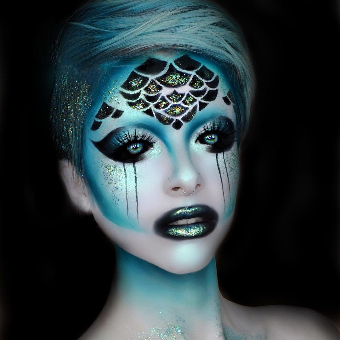 07-Deep-Sea-Siren-Kimberley-Margarita-Makeup-Effects-that-Transform-the-Artist-www-designstack-co