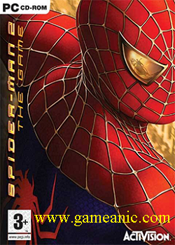 Spiderman 2 Game Cover