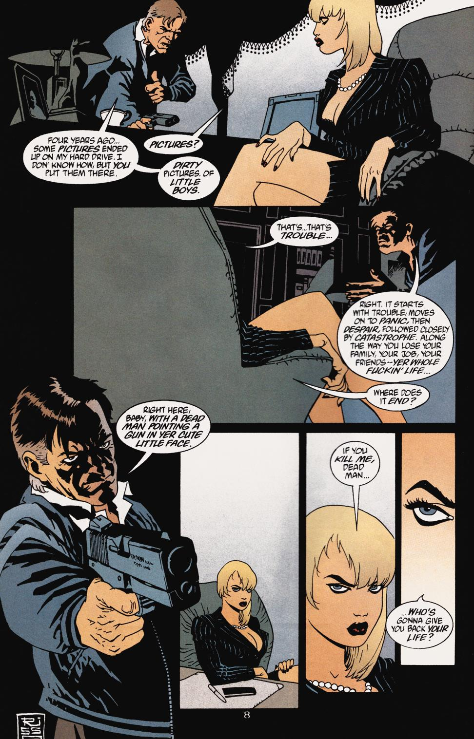 Read online 100 Bullets comic -  Issue #5 - 10