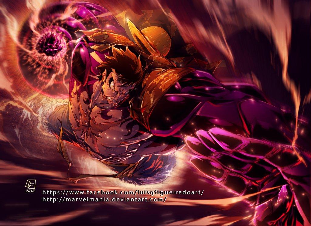4 Hd Wallpaper One Piece Monkey D Luffy Gear 4 Terbaru 2016 Blog Yoiko