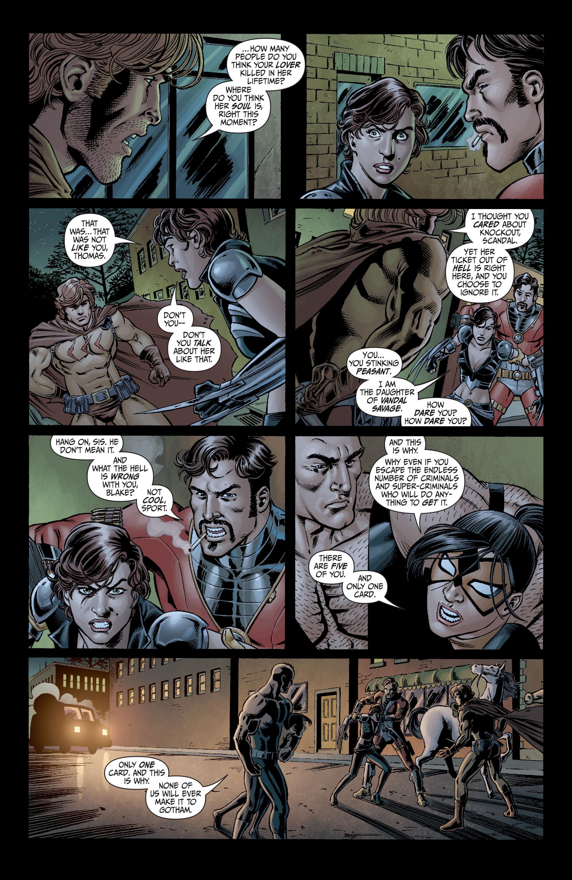 Read online Secret Six (2008) comic -  Issue #4 - 6