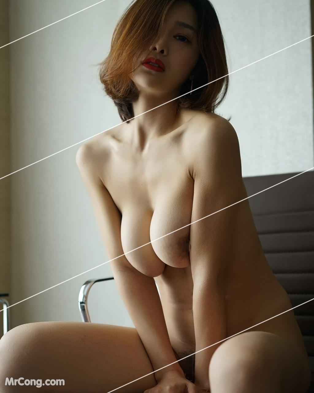 Image Yan-Pan-Pan-Part-3-MrCong.com-039 in post Ngắm vòng một siêu gợi cảm với nội y của người đẹp Yan Pan Pan (闫盼盼) (51 ảnh)