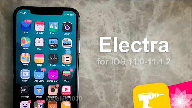 Electra-iOS-11-11.1.2 New useful tweaks for the ios 11 Apple