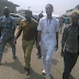 Seun Egbegbe all smiles as he finally gets bail (Photo)