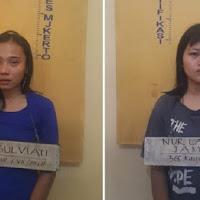 Dua Perempuan Ini Jadi Komplotan Begal Sadis