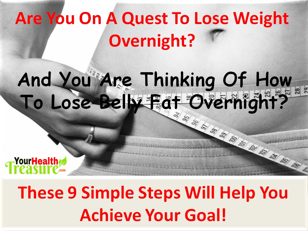 lose weight overnight with laxatives weight
