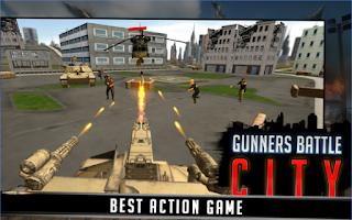 Gunner Battle City Ammo Apk Unlimited Ammo