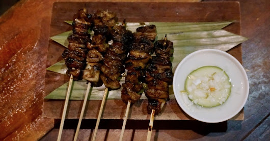 Where to eat Isaw Baboy in Cebu?