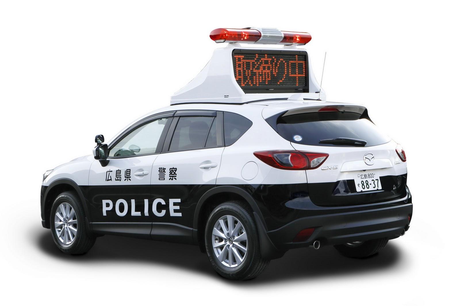 Japanese Cops Get Diesel Powered Mazda Cx 5 Patrol Cars