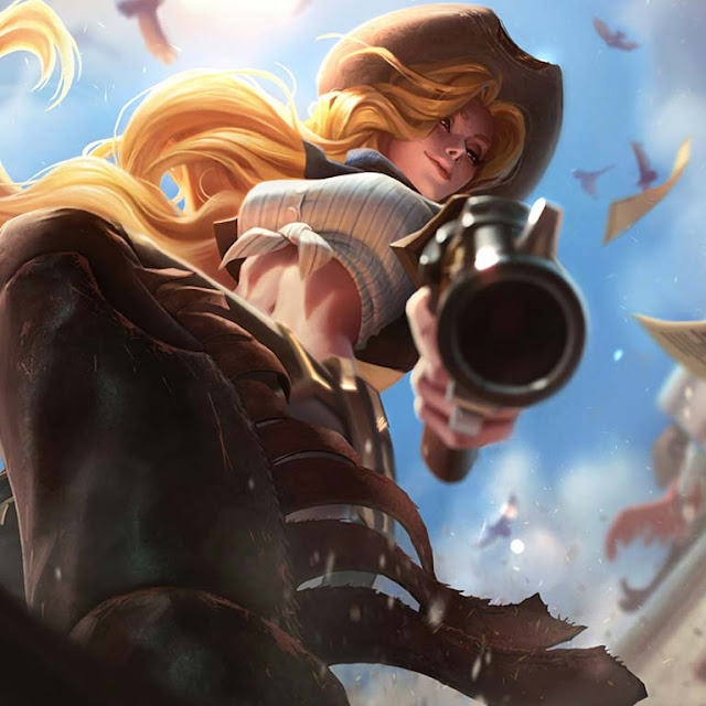 Fantasy - Woman (Cowgirl) Wallpaper Engine