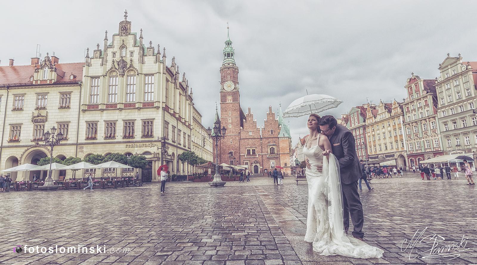 Wrocław - #Zdjęcia ślubne - #Fotograf Michał Słomiński www.Fotoslominski.Pl