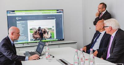 Präsentation von digitalen Projekten | Foto: Loredana La Rocca / Goethe-Institut