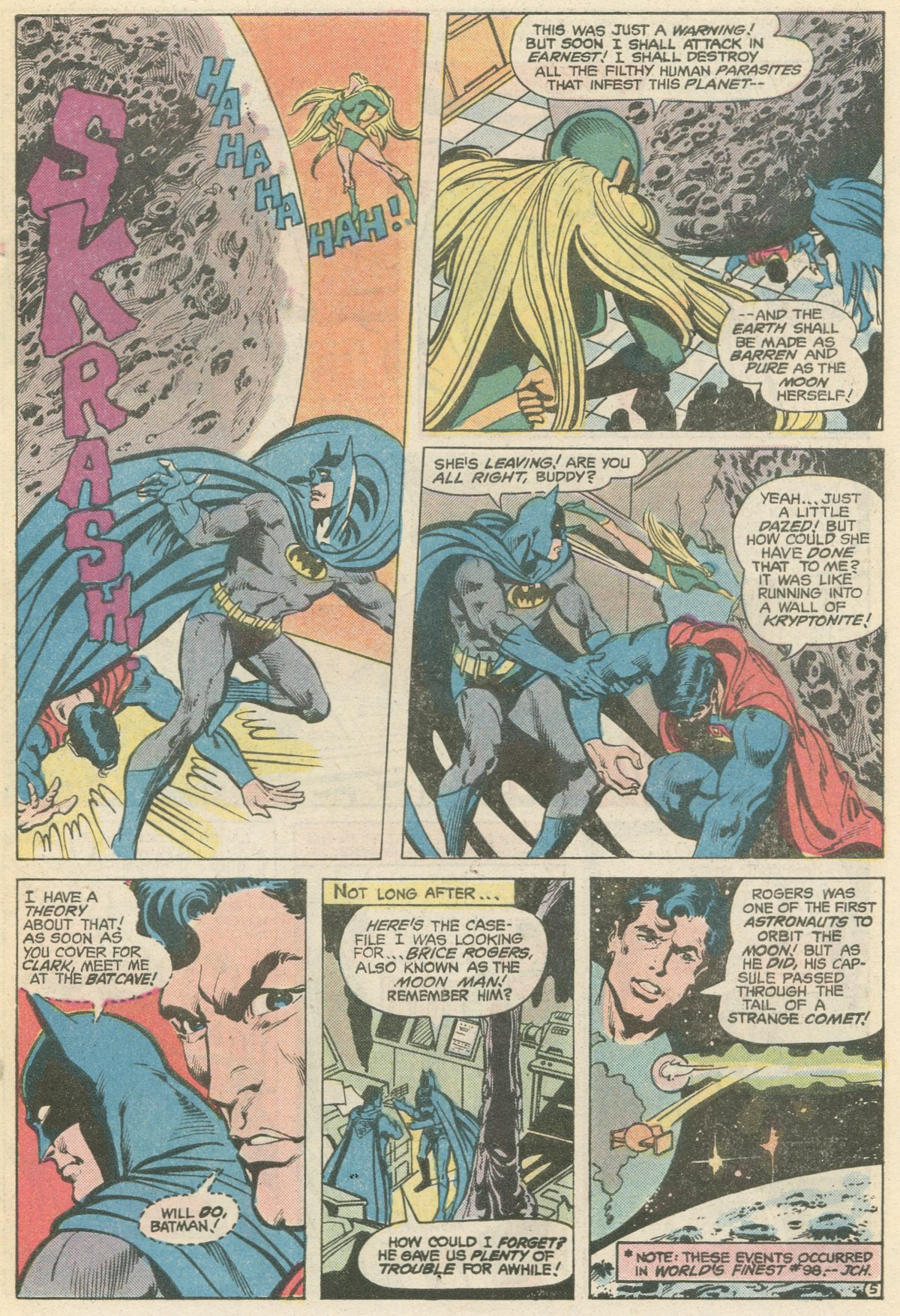 Read online World's Finest Comics comic -  Issue #266 - 7