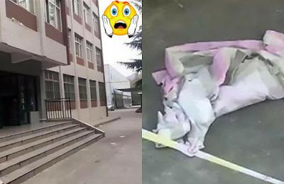 Tanpa Wajah Berdosa,  Mahasiswi Ini tega Melempar Anaknya Yang Baru Lahir Dari Atas Gedung Kampus