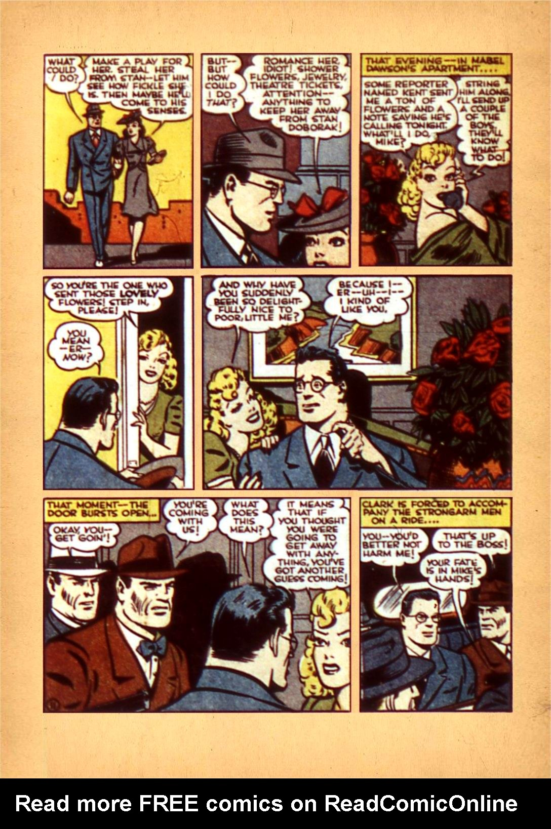 Read online Action Comics (1938) comic -  Issue #50 - 16