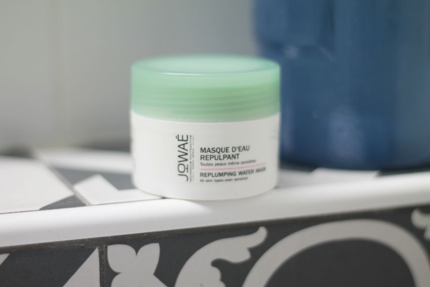 masque eau visage naturel green jowae