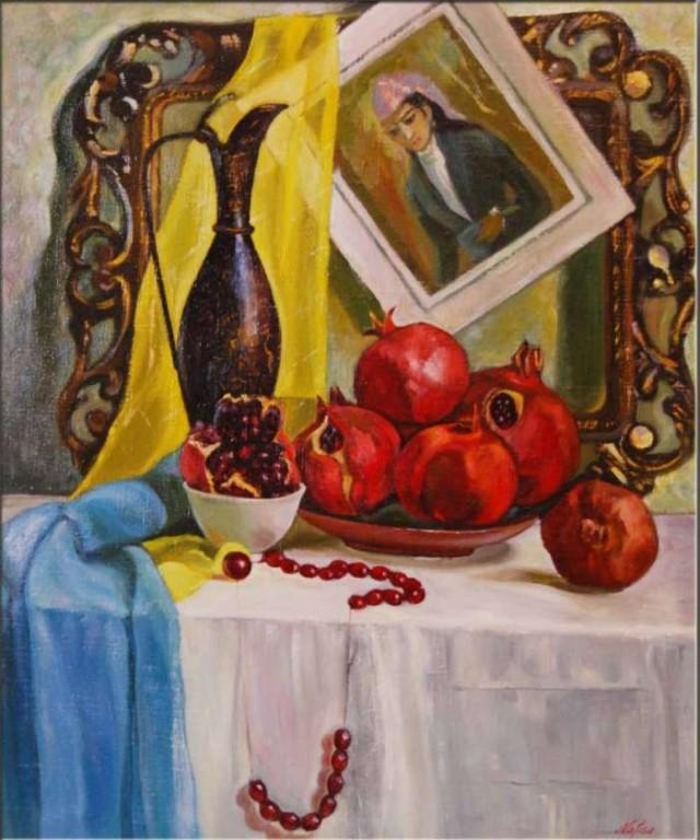 Художник из Узбекистана. Нафиса Гильманова