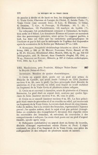 La relique de la Vraie Croix. Recherches sur le développement d'un culte. http://leipsanothiki.blogspot.be/