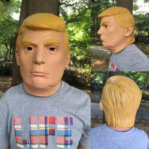 Donald Trump Carnival face Mask for Halloween, Parties and Pranks. buy online, Halloween Costumes, Party Ideas, Halloween Makeup ideas,