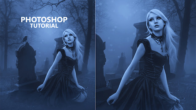 Photoshop Manipulation Tutorial/advance Drametic Light Effect