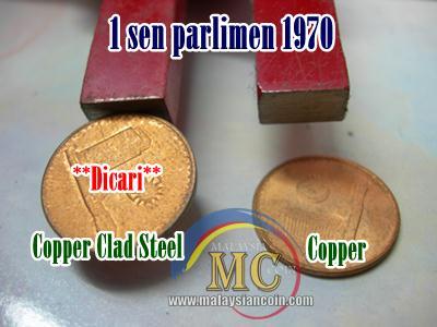 1 sen magnet