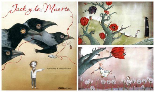 Libro infantil para tratar la muerte como aprte de la vida: Jack y la muerte