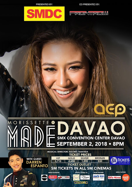 Morissette Is Made in Davao City