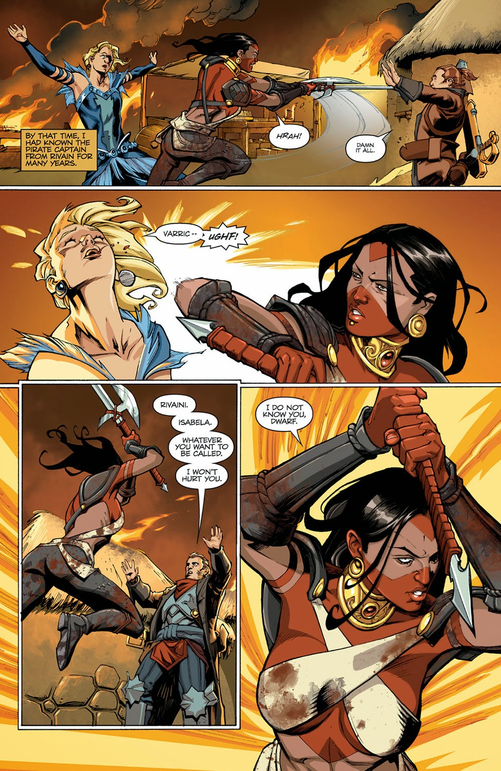 Dragon Age Comic Pdf