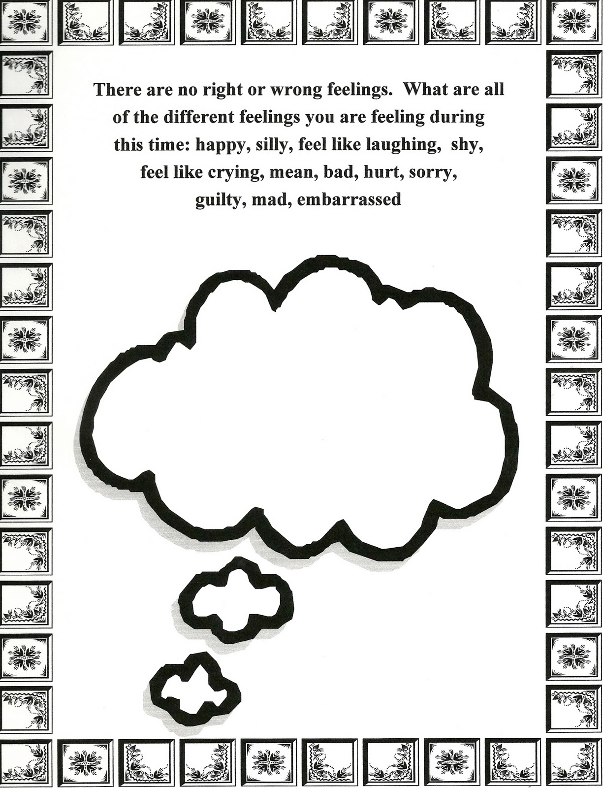 Self Esteem Worksheets For Elementary Students Meditation