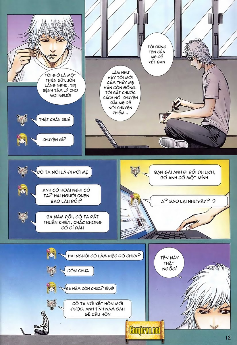 Dã Lang Và Marry chap 2 - Trang 12