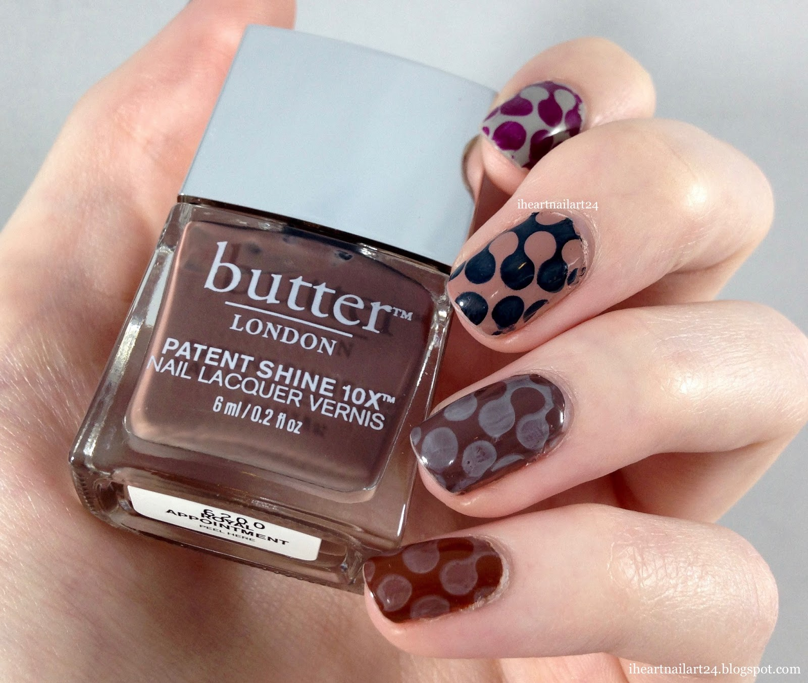 Stamped Nail Art with the Butter London Eventful Gift Set | I Heart ...