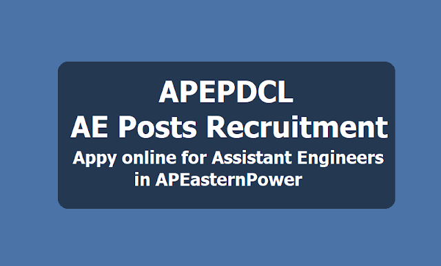 APEPDCL AE Posts