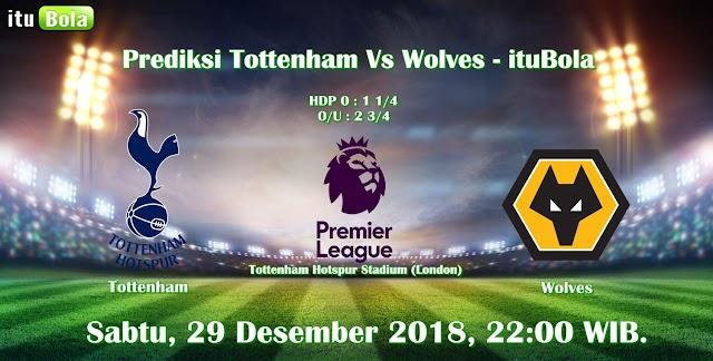 Prediksi Tottenham Vs Wolves - ituBola