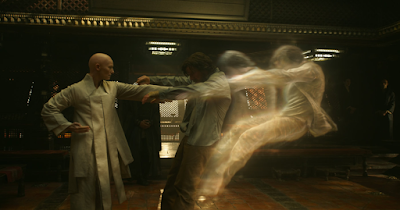 Tilda Swinton and Benedict Cumberbatch in Doctor Strange