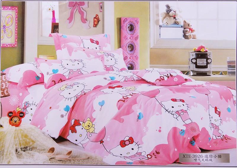 15 desain kamar tidur anak perempuan hello kitty