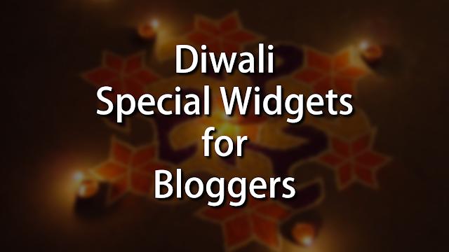 Diwali Widgets