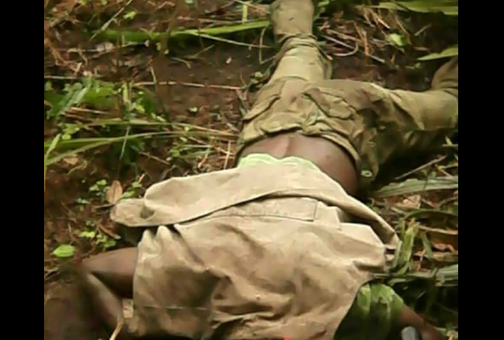 Graphic Photo PDP Ward Chairman Hacked To Death With Machete In Delta State