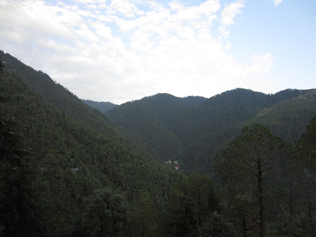a view of valley