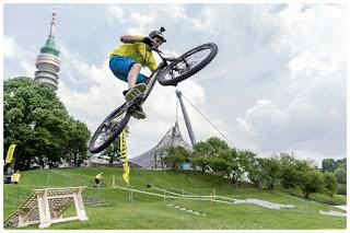 Die e-Bike Days München bieten einen großen Pedelec-Testparcour im Olympiapark.
