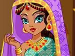 لعبة تلبيس الساري الهندي