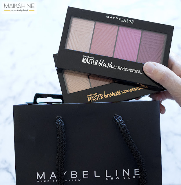 Master Blush y Master Bronze Maybelline