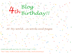 4th Blog Birthday Celebrations!