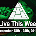 Live This Week: December 18th - 24th, 2016