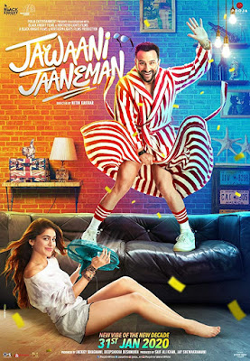 Jawaani Jaaneman 2020 Hindi 720p WEB HDRip HEVC x265 world4ufree