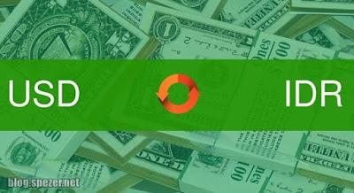 Cara cek nilai rupiah per dollar hari ini