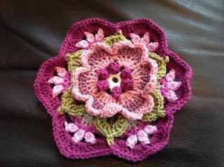 square em forma de flor