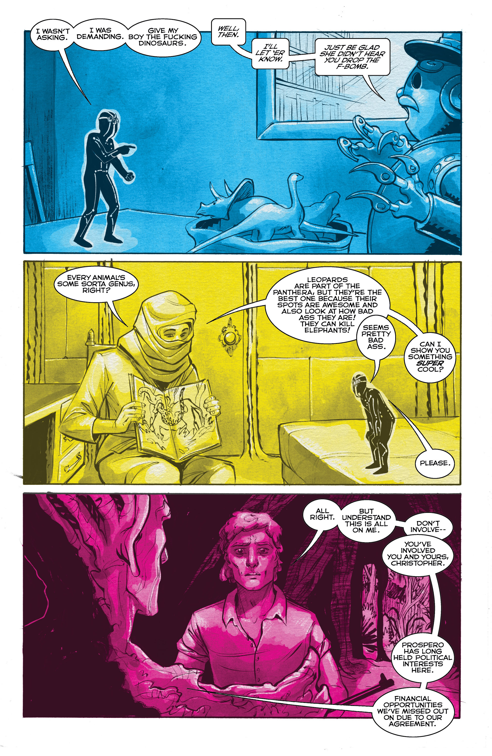 Read online Shutter comic -  Issue #19 - 20