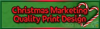 FREE Christmas Marketing Tips Quality Print Design