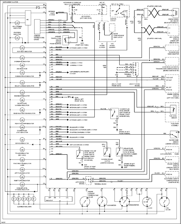 wiring diagram together with ford instrument cluster wiring diagram in