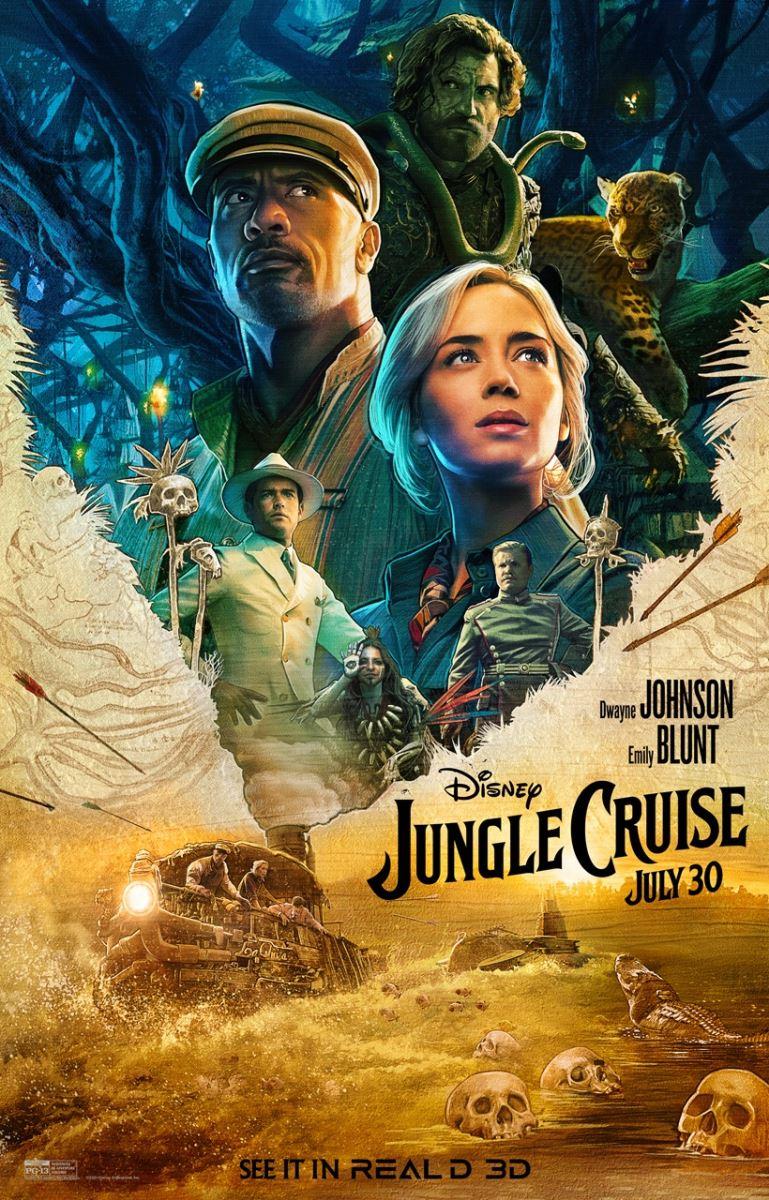 Jungle Cruise: Thám Hiểm Rừng Xanh - VietSub (2021)